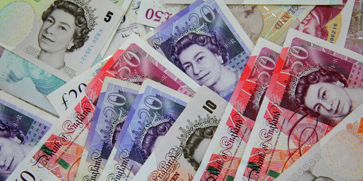 Buy Undetectable Counterfeit Pound Sterling Banknotes (GBP)