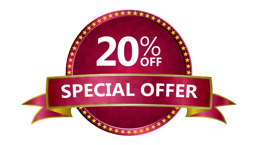 TOP-NOTCH DISCOUNT FOR CLIENTS